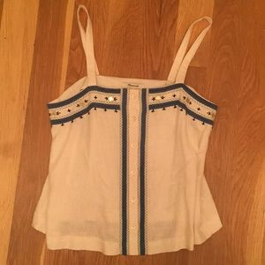Madewell blouse - so cute w/ specific embroidery